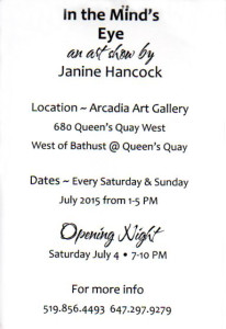 Janinie Hancock verso