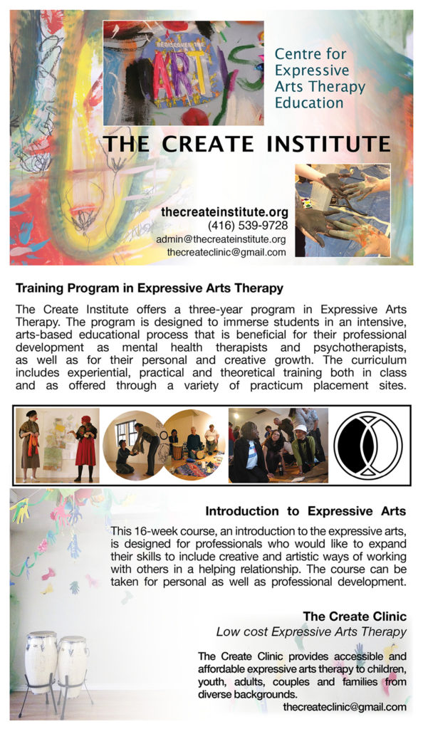 Exat Training Ontario Expressive Arts Therapy Association